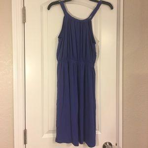 LOFT purple casual dress